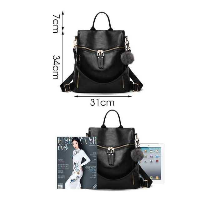 Fashion Style Compact Leather Backpack Backpacks New Arrivals